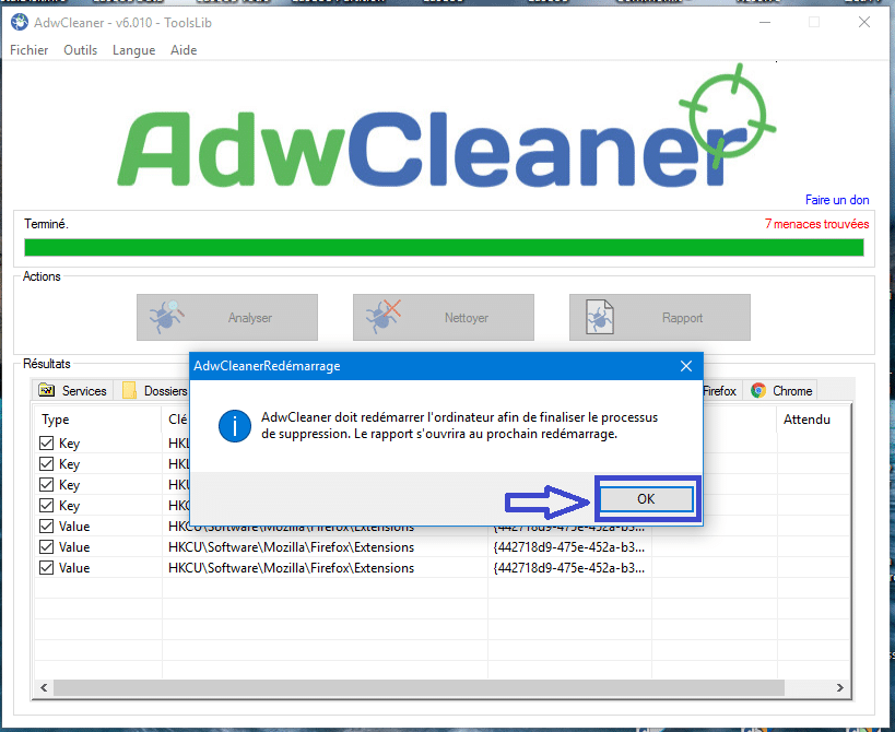 adwcleaner version 6 tutoriel sospc.name 9