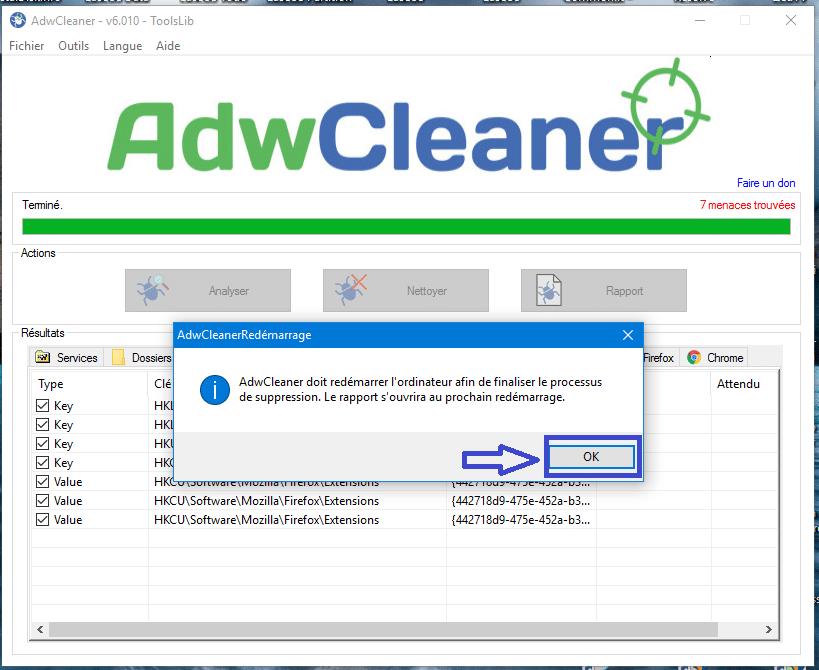 adwcleaner version 6 tutoriel sospc.name 9