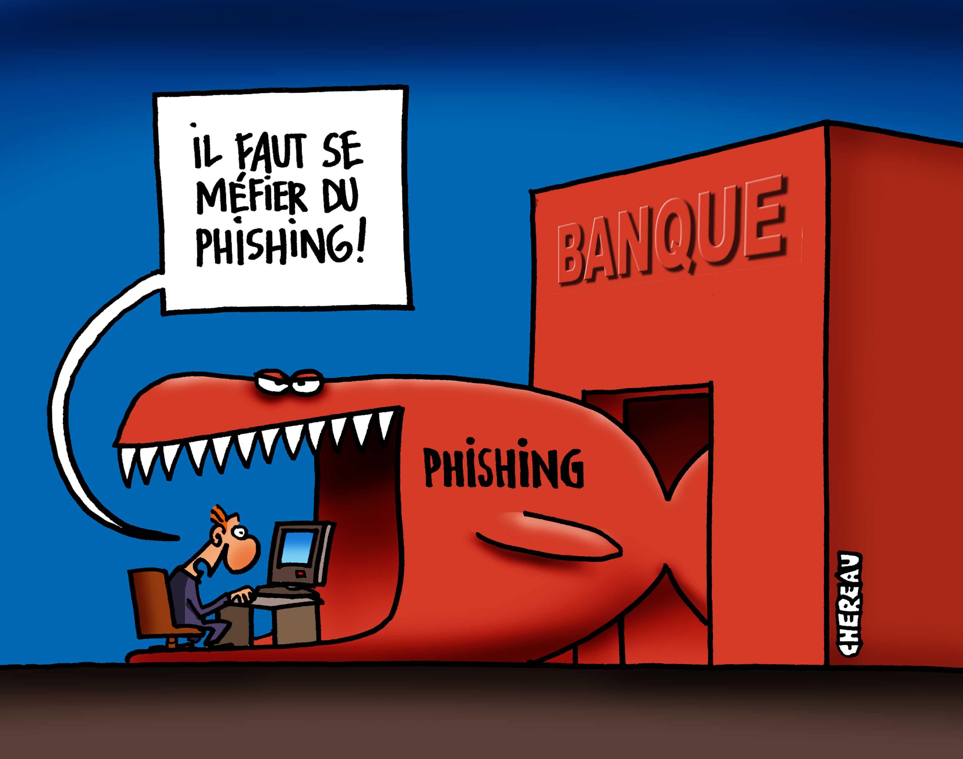 Le Phishing (hameçonnage) c'est quoi ?