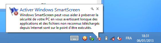 Désactiver SmartScreen – Windows 8 -08