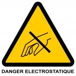 L'Electricité statique ennemie invisible matériels informatiques.