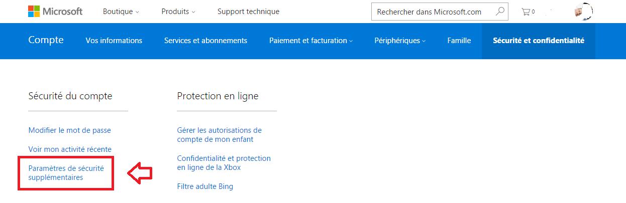 Comment fermer son Compte Microsoft. www.sospc.name 2