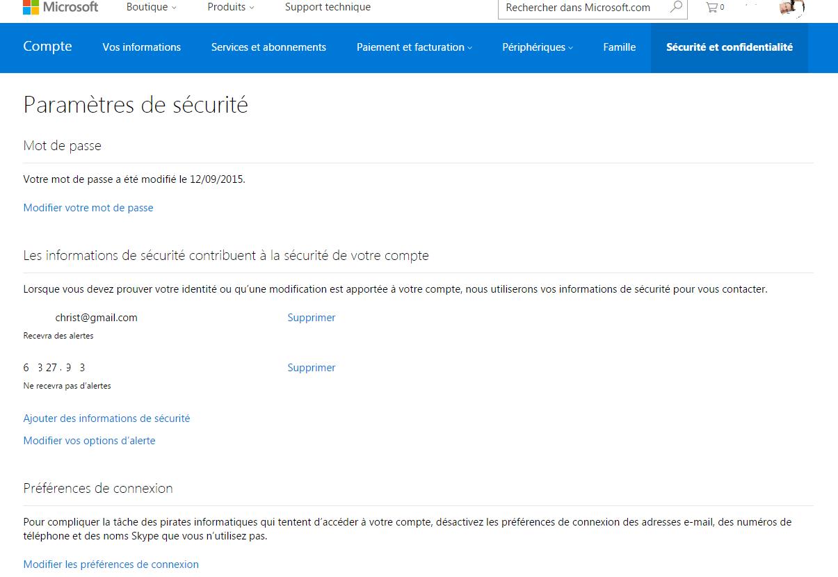 Comment fermer son Compte Microsoft. www.sospc.name 5