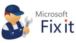 Fix it : le Centre de Solutions de Microsoft.