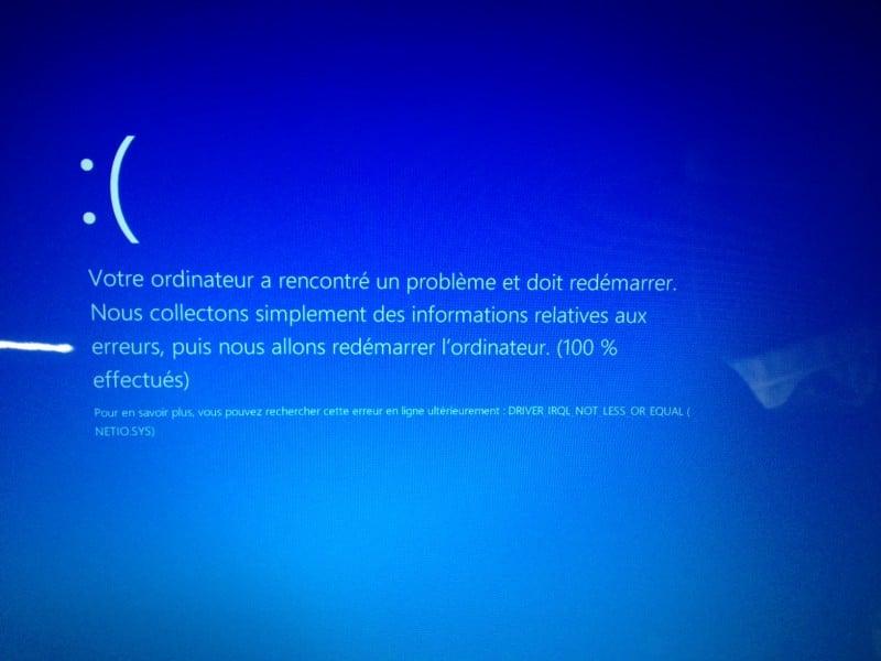 w8.8.1.écran bleu.pilotes