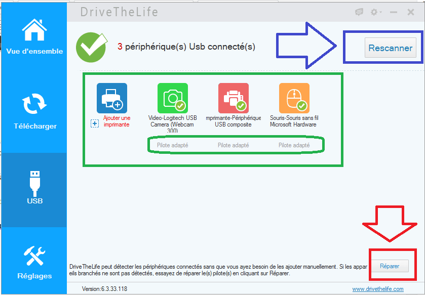 drive thelife nouvelle version aout 2015 interface français usb sospc.name