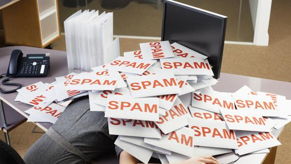 spams envahissants