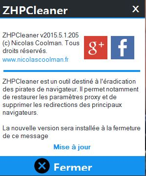 ZHP CLEANER 2 mise à jour