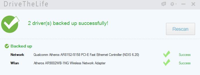 installer pilotes réseau facilement.11