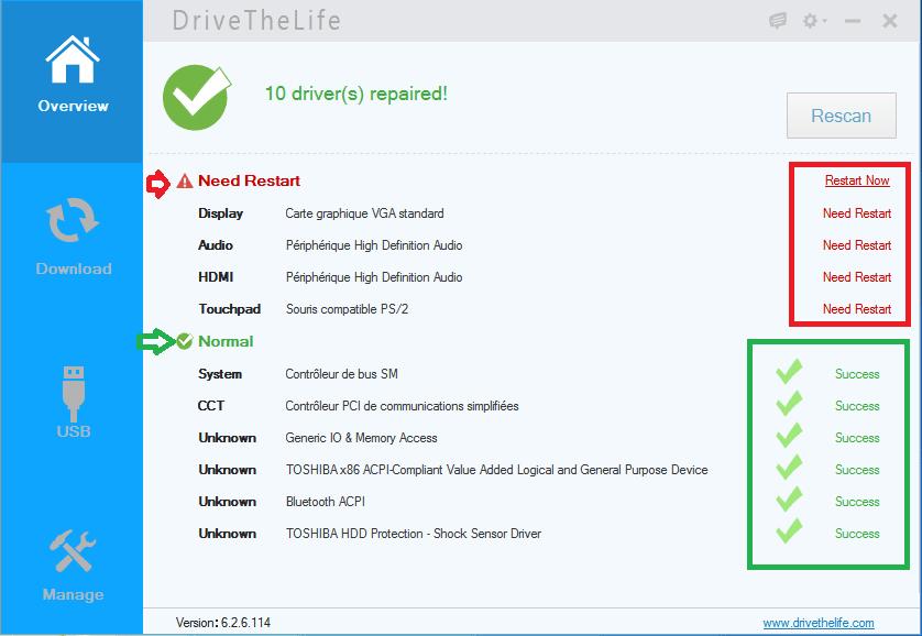 installer pilotes réseau facilement.18