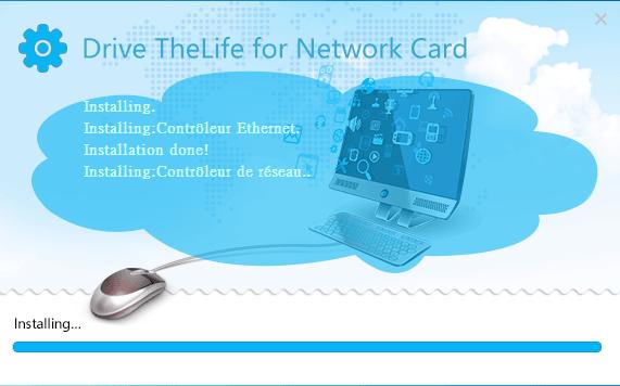 installer pilotes réseau facilement.7