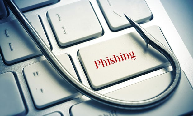 phishing bannière