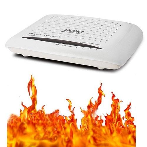 routeur chaleur box