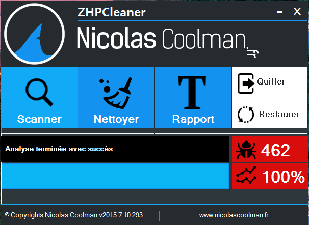 zhpcleaner puissant !