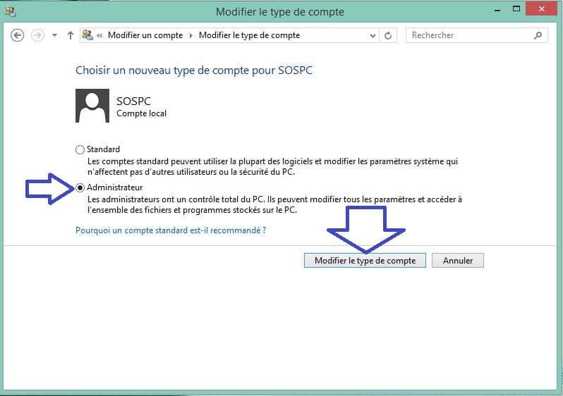 ARTICLE CLONAGE COMPTE UTILISATEUR passage en mode admin.4