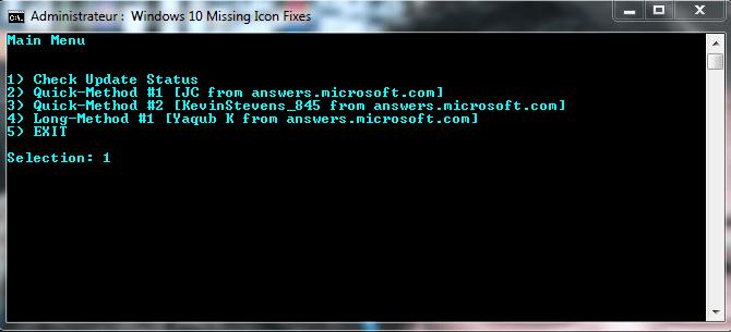 activer icône réservation windows 10.4