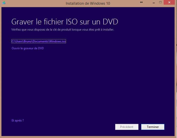 INSTALLATION WINDOWS 10 DVD ISO.2