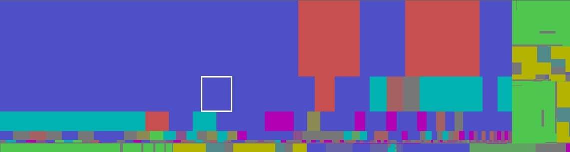 windirstat exemple réglage couleurs