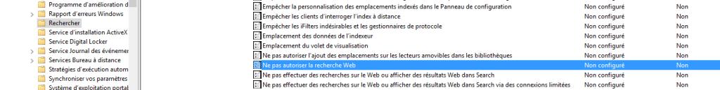 windows 10 désactiver recherche web barre des taches.3