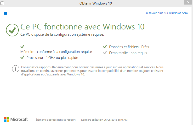 windows 10 savoir si config pc suffisante.3