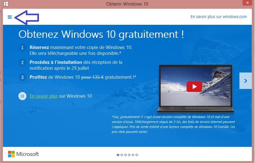 windows 10 savoir si config pc suffisante