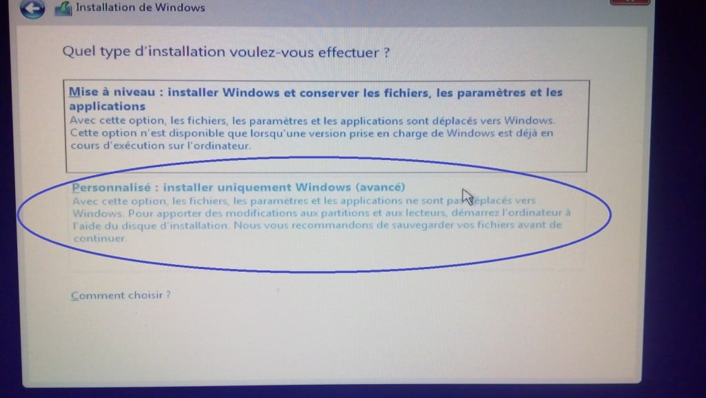 Installer Windows 10 proprement.www.sospc.name.10