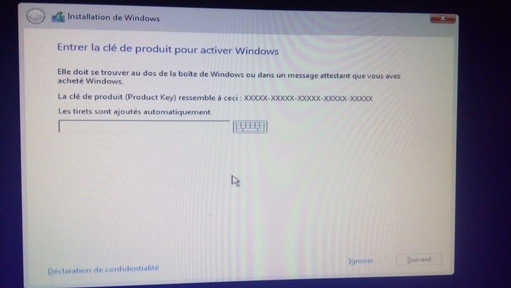 Installer Windows 10 proprement.www.sospc.name.8