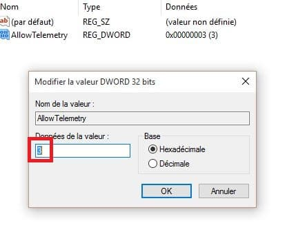 confidentialité windows 10.8