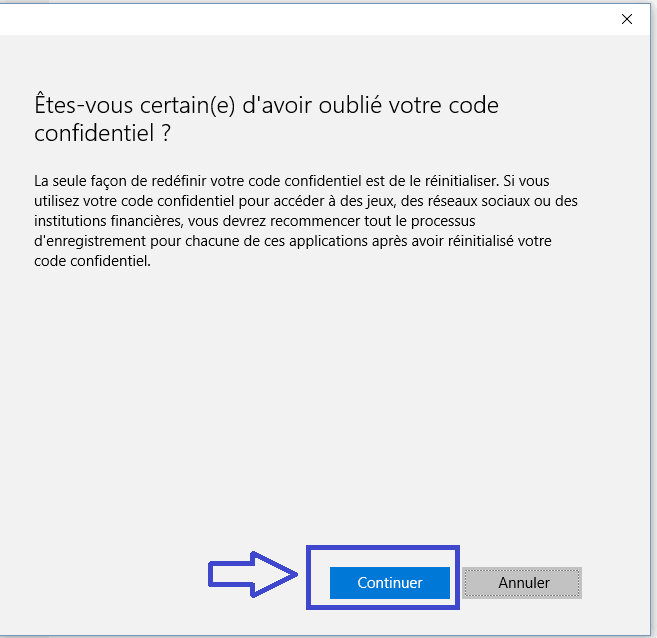 w10 supprimer code pin.2