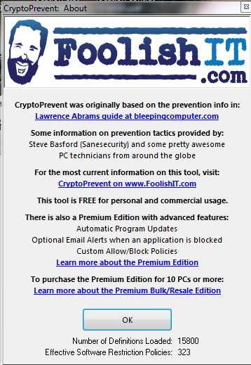 CRYPTOPREVENT sospc.name Q