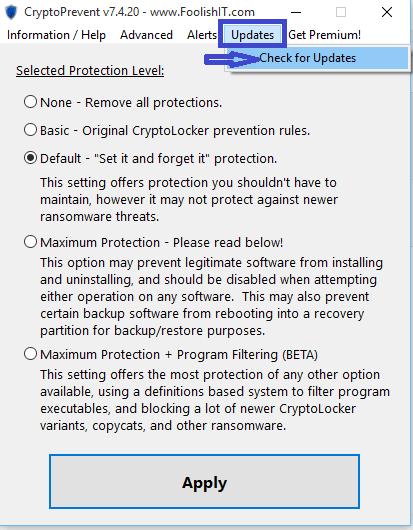 crypto prevent sospc.name mettre à jour
