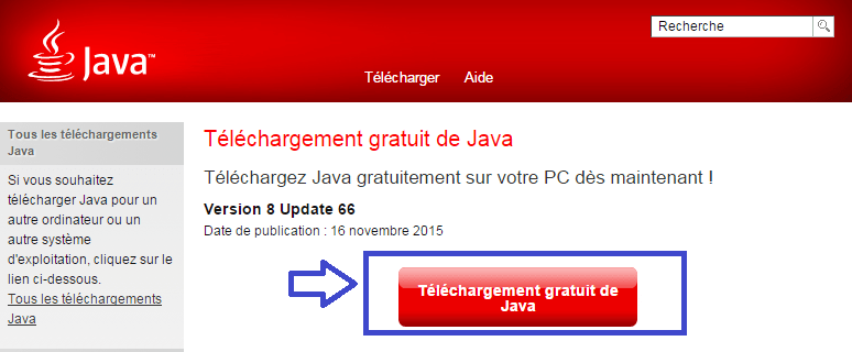 Télécharger java sospc.name