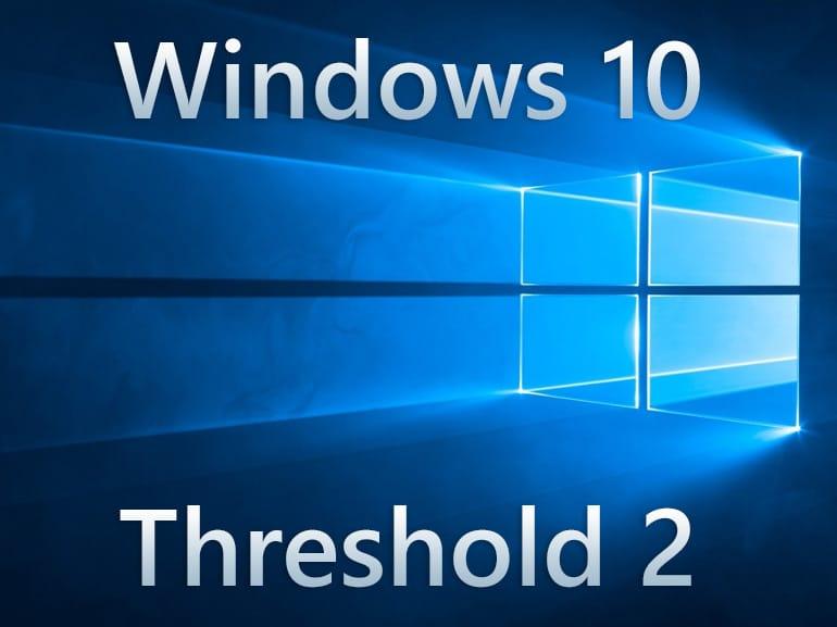 Windows 10 : mise à jour Threshold 2 / 1511, tuto complet.