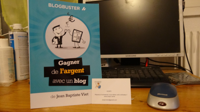 Sospc aime : le livre Blogbuster de Jean-Baptiste Viet.