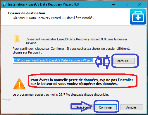 Data Recovery Wizard Free 9.8 tutoriel sospc.name D