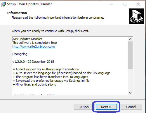 Win Updates Disabler tutoriel sospc.name 5