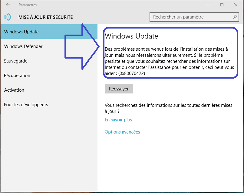 Win Updates Disabler tutoriel utilisation sospc.name 3