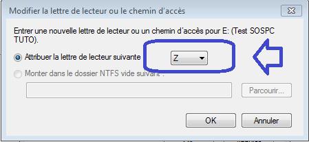 tutoriel sospc.name changer lettre disque g
