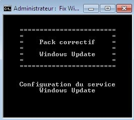 PROCEDURE GOOF REPARATION WINDOWS UPDATE 3