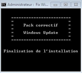 PROCEDURE GOOF REPARATION WINDOWS UPDATE 5