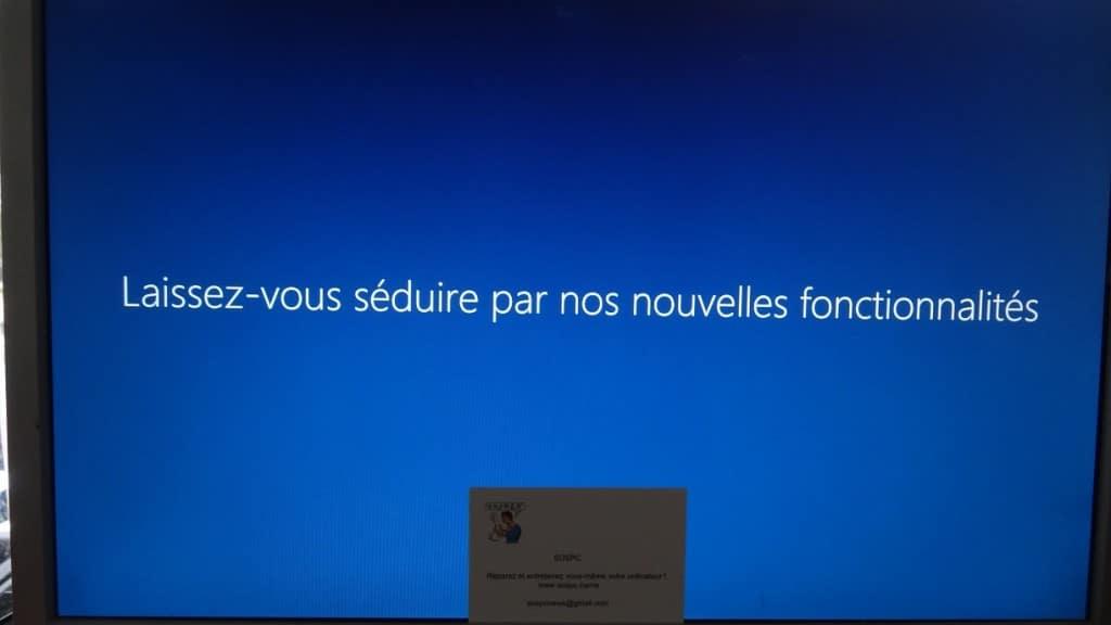 sospc réinitialiser windows 10 19