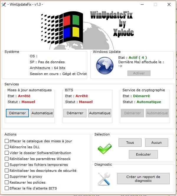 Windows 7: après réinstallation Windows ne trouve pas de
