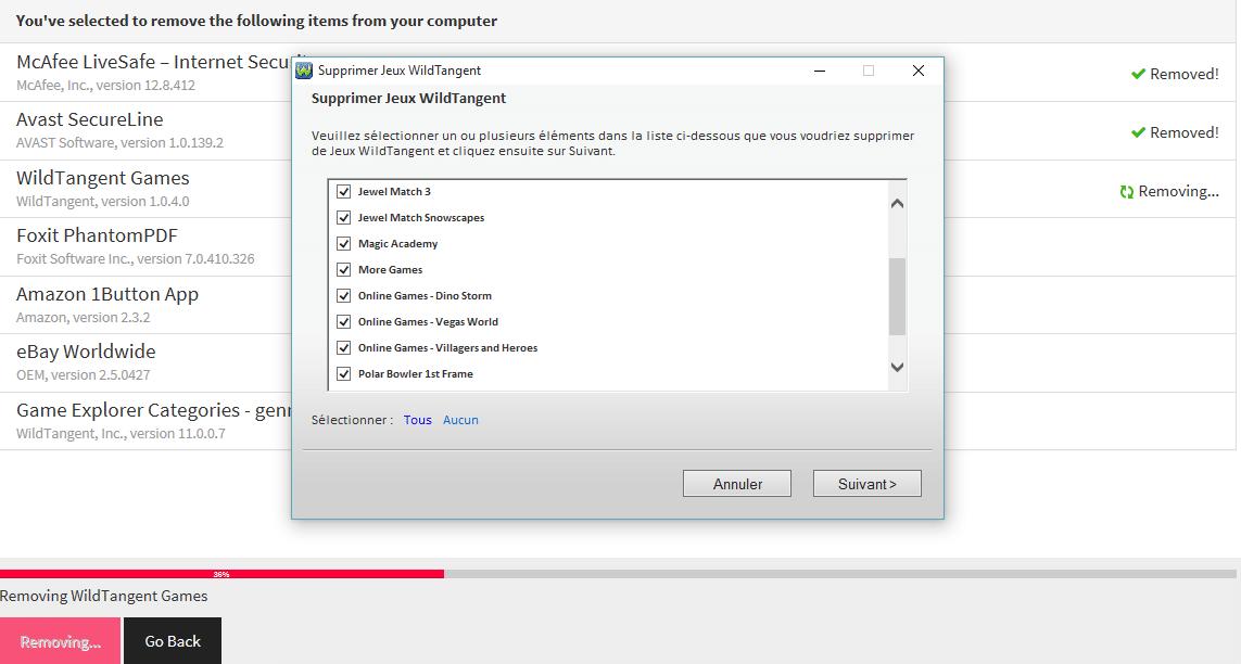 PC Decrapifier : supprimer les logiciels pré-installés par