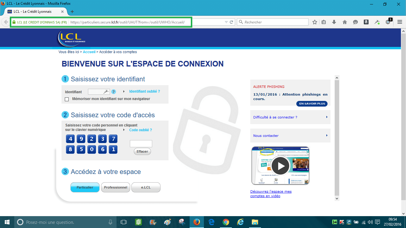 phishing sospc.name lcl.page originale