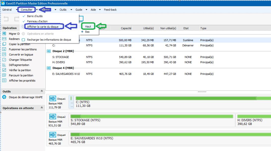 sospc easeus tutoriel d'utilsation partition master