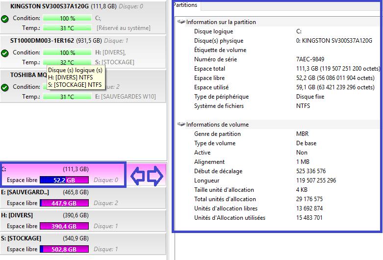 sospc.name hard disk sentinel pro tableau de bord détaillé désactiver affichage 4 tutoriel