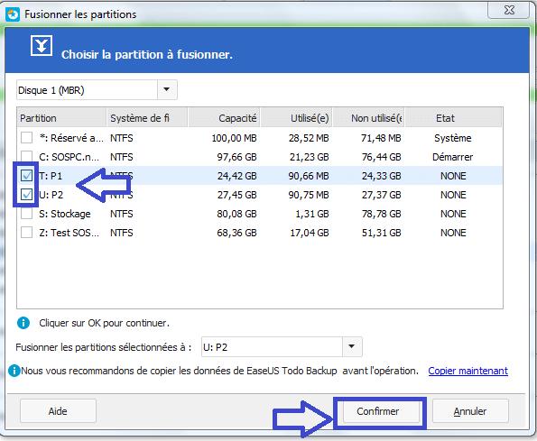 tutoriel partition master fusion sans perte de données 5