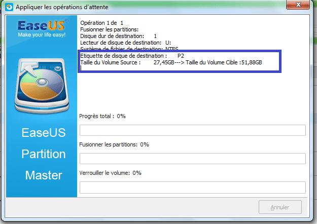 tutoriel partition master fusion sans perte de données 6