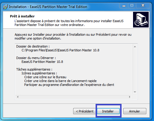 tutoriel partition master professional 10