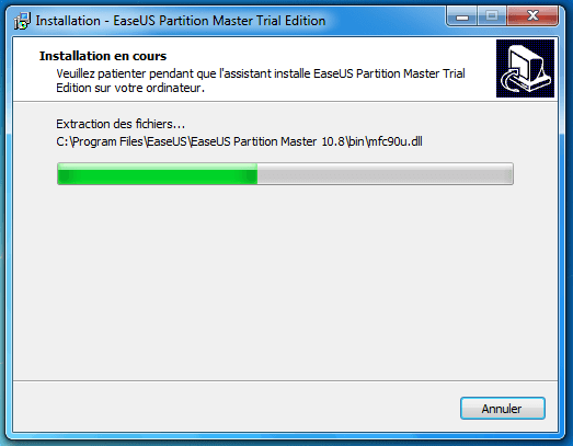 tutoriel partition master professional 11